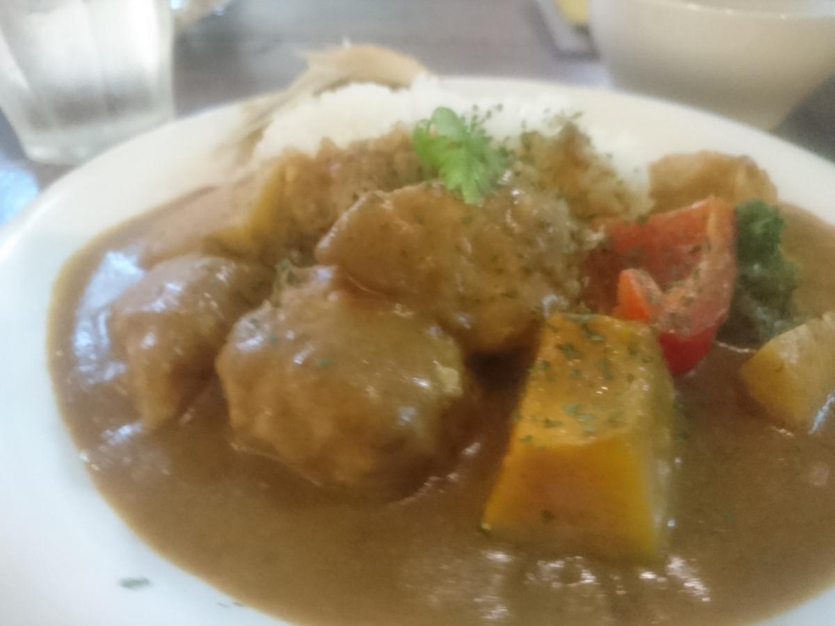 チキンと野菜の豆乳カレー 31 -1