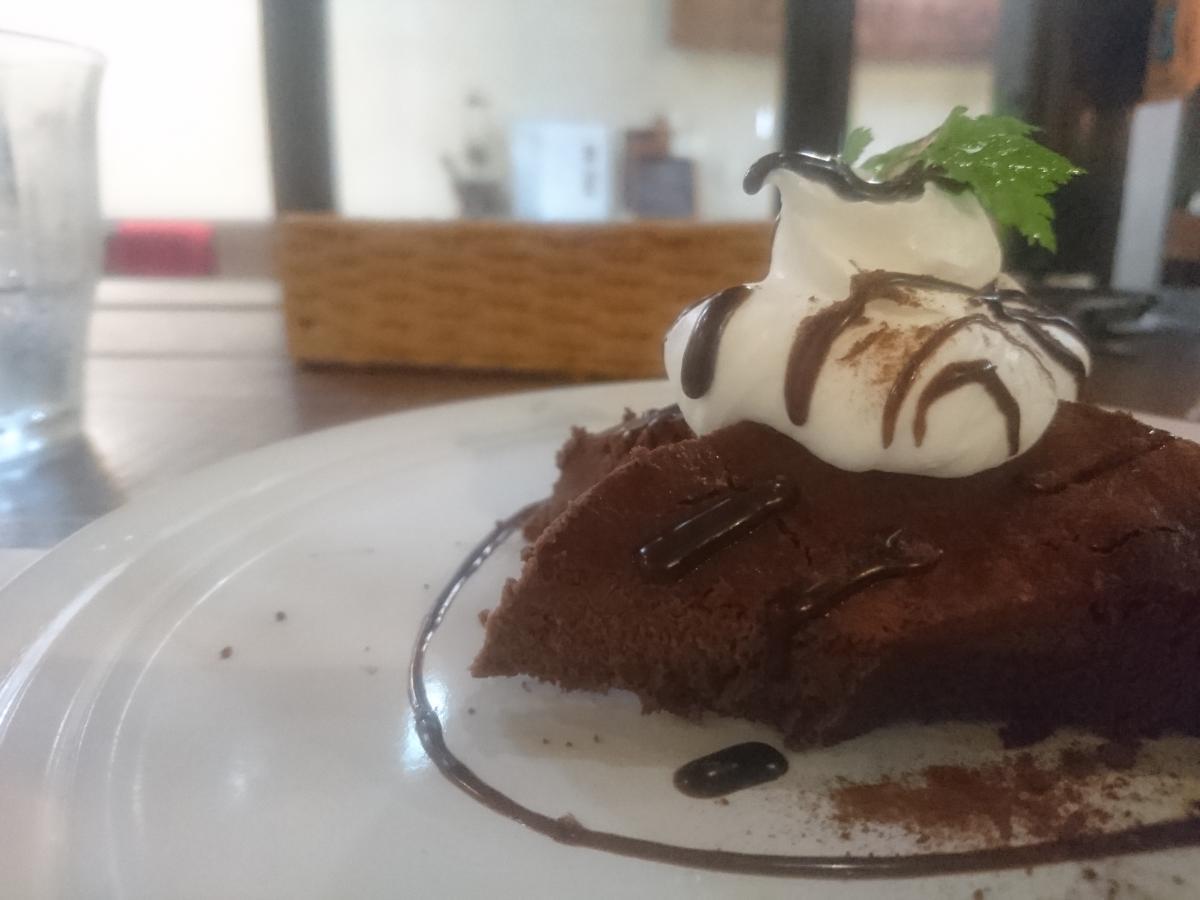 チョコレートのチーズケーキ 53 -1