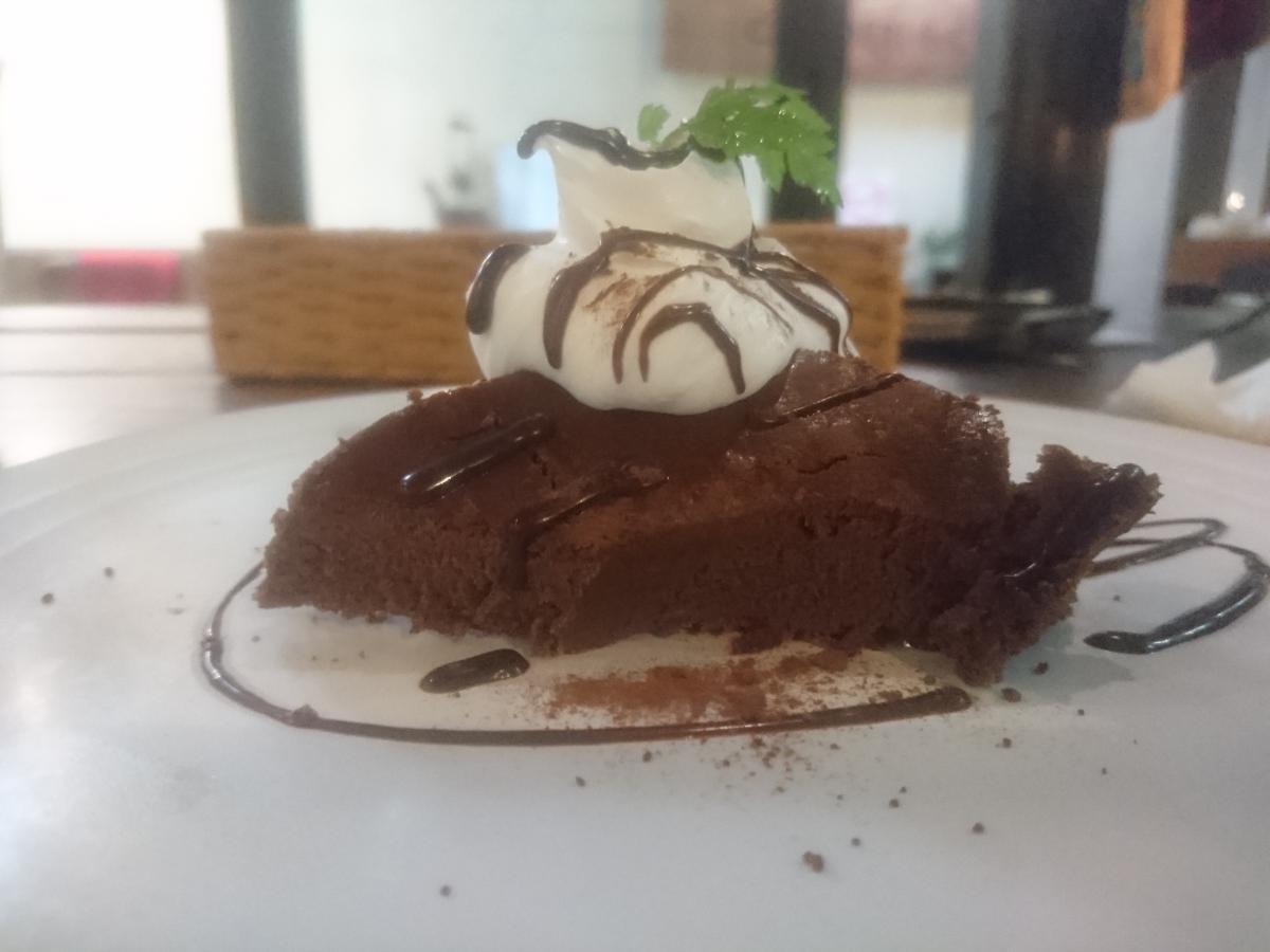 チョコレートのチーズケーキ 53 -2