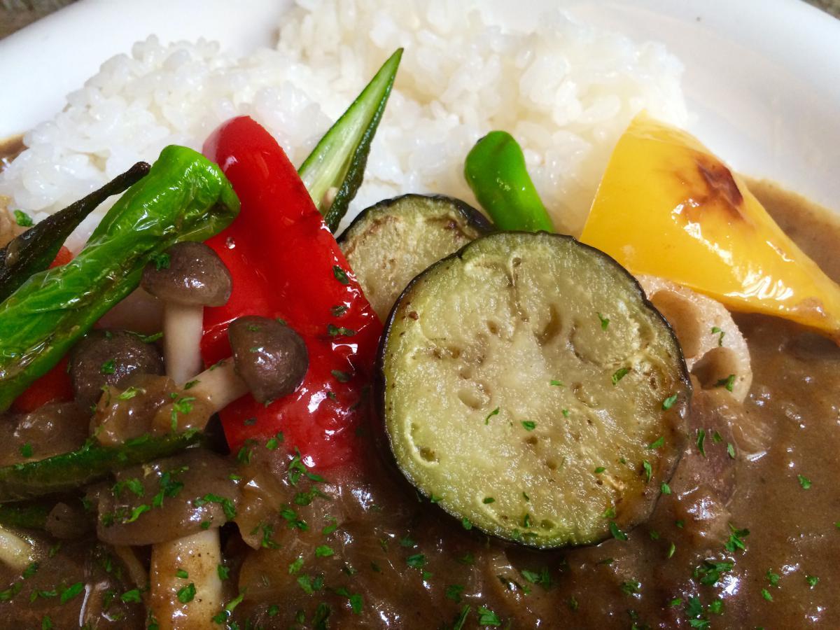 色々野菜のベジタブルカレー