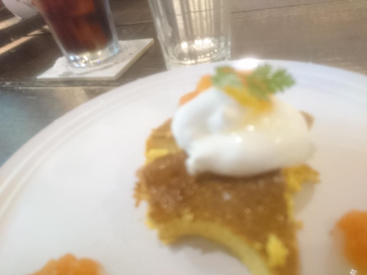 人参と柚子のチーズケーキ 15 -2