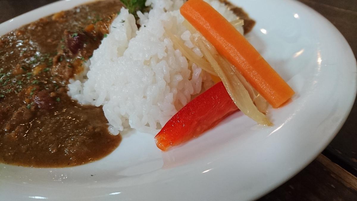 豆を煮込んだひき肉カレー 18 -2