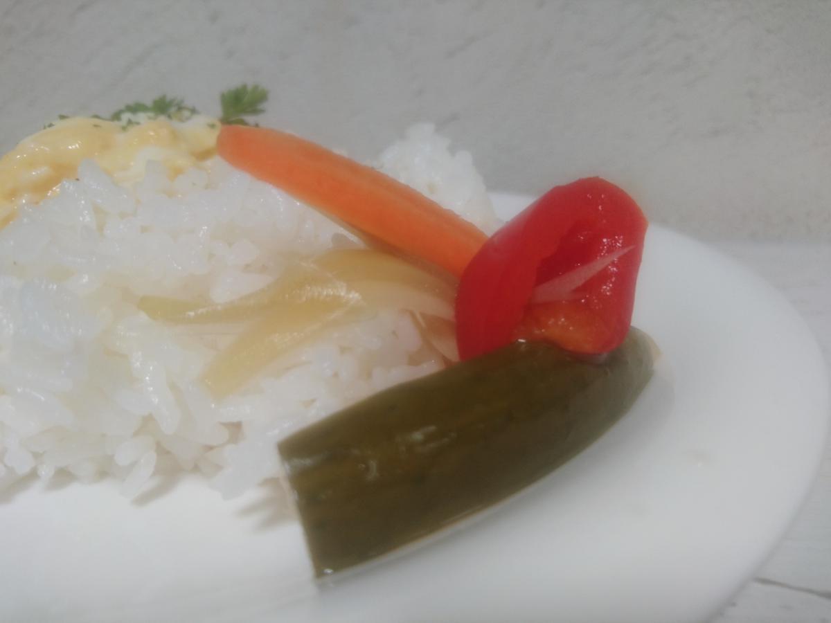 ふんわり卵のオムレツカレー 21 -2