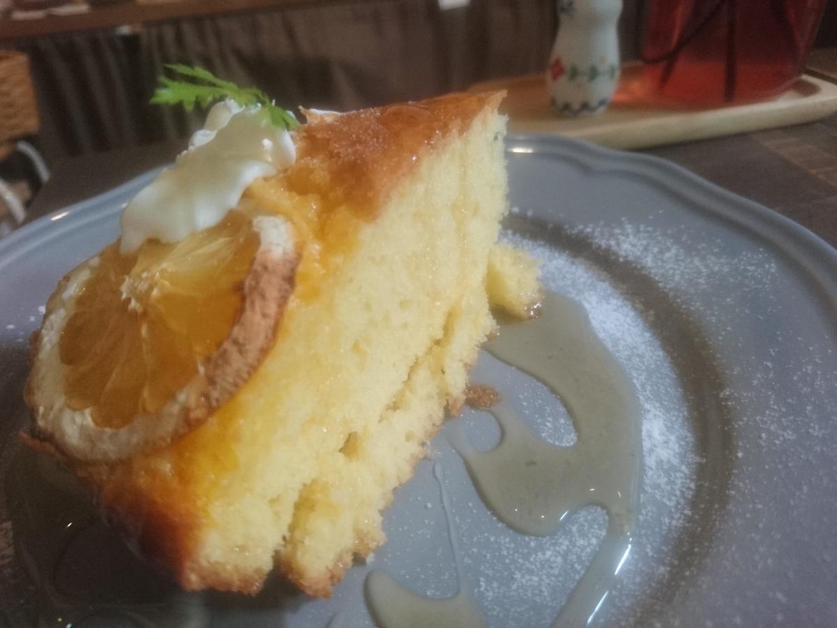 はちみつとレモンのケーキ 22 -1