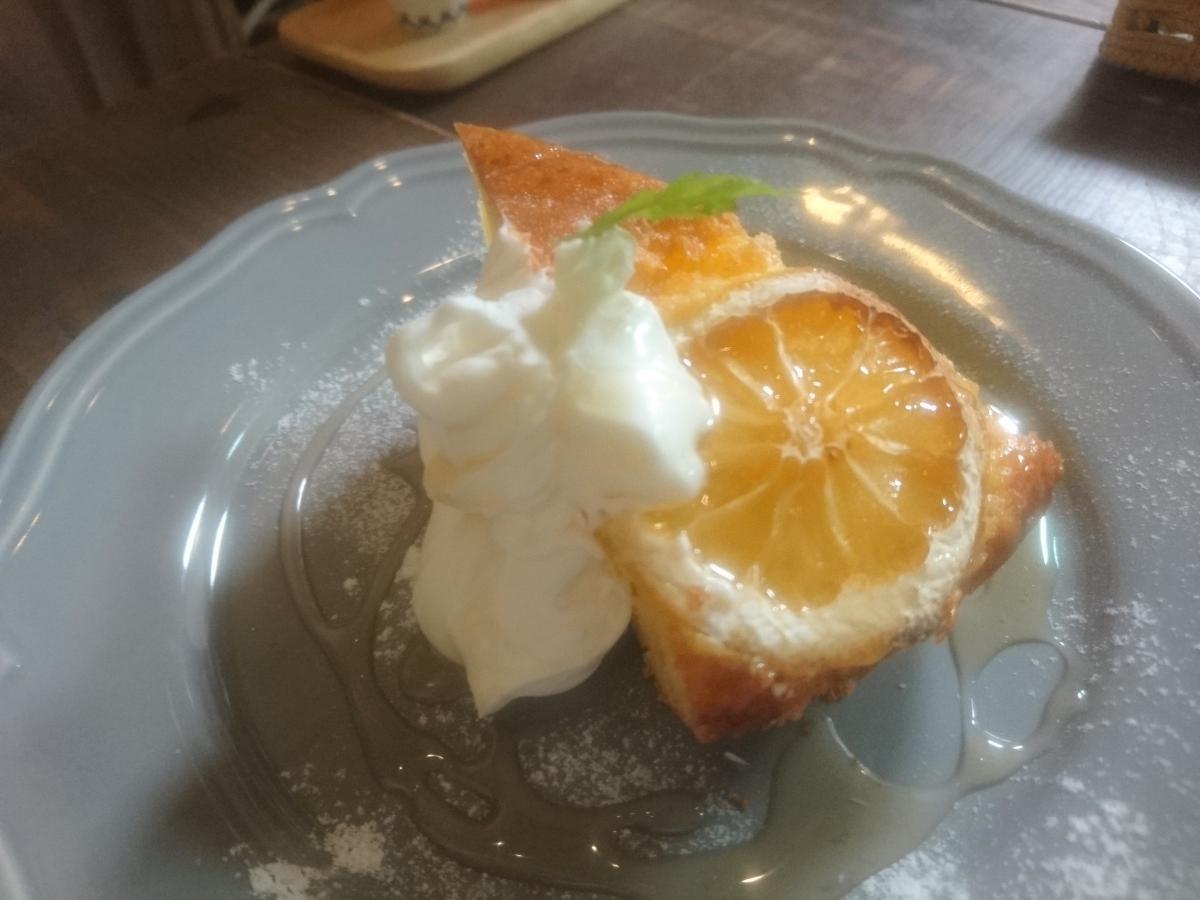 はちみつとレモンのケーキ 22 -3