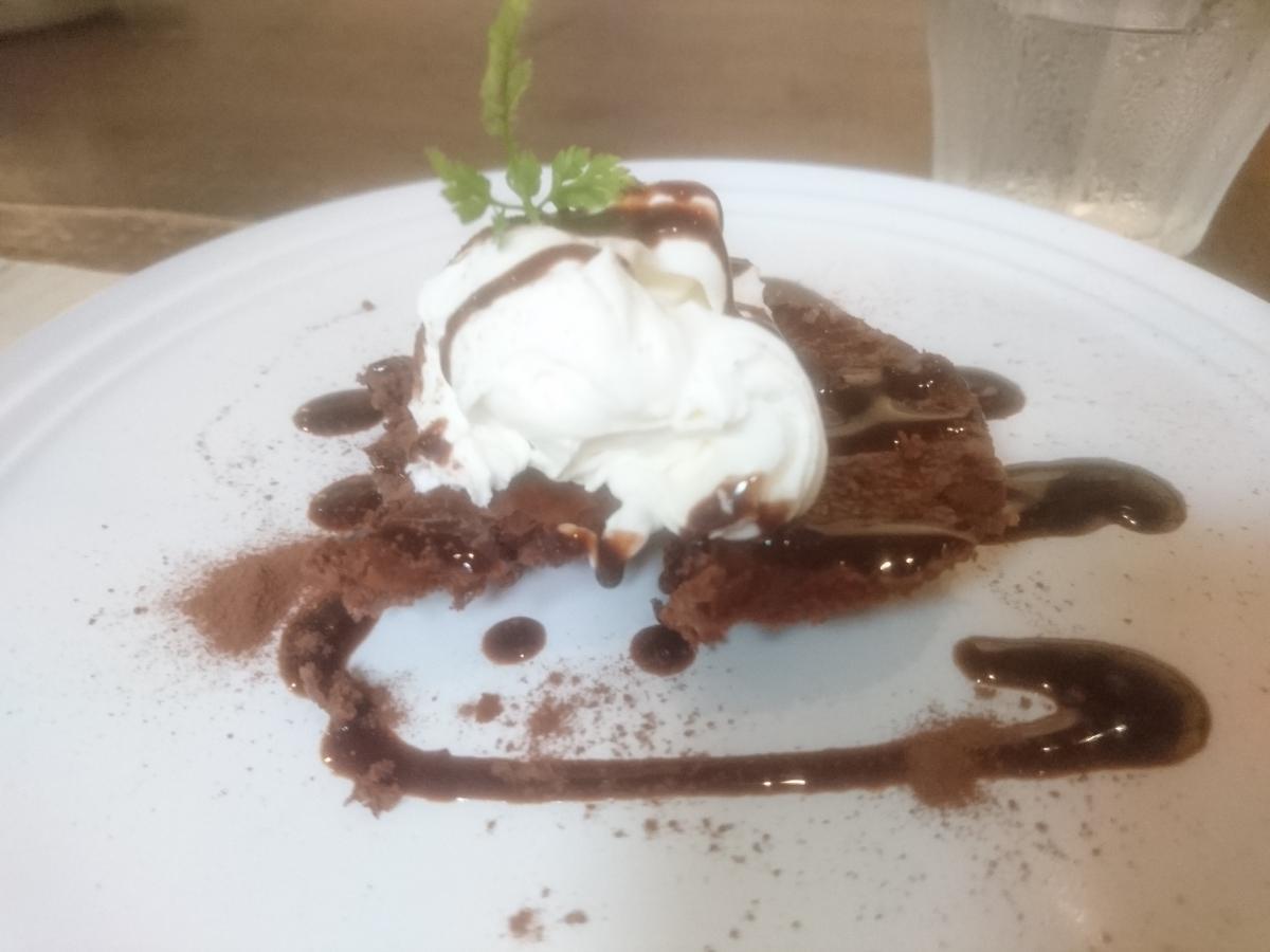 チョコレートのチーズケーキ 33 -1