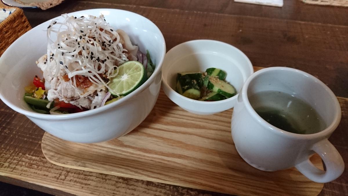 香味だれと彩り野菜の豚しゃぶ丼 34 -2