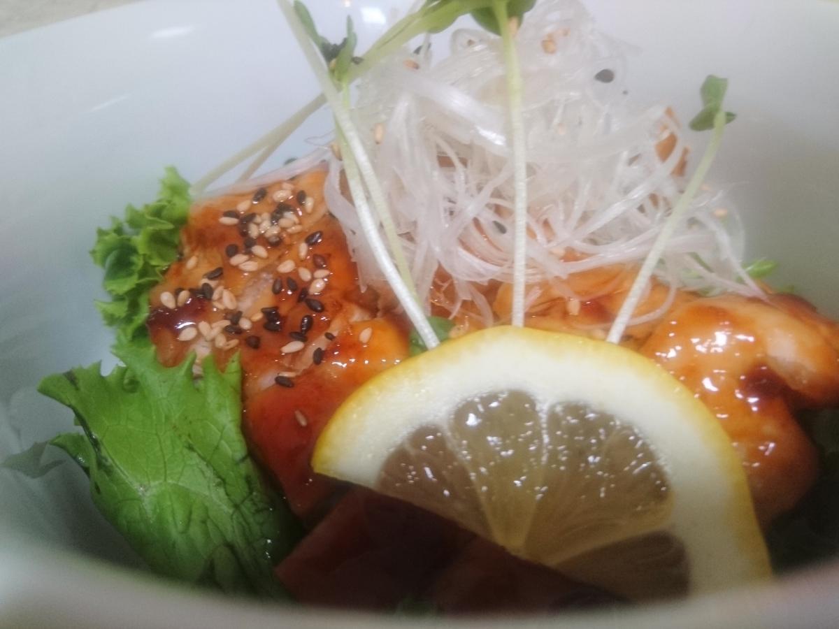 チキンのピリ辛照り焼き丼 41 -1
