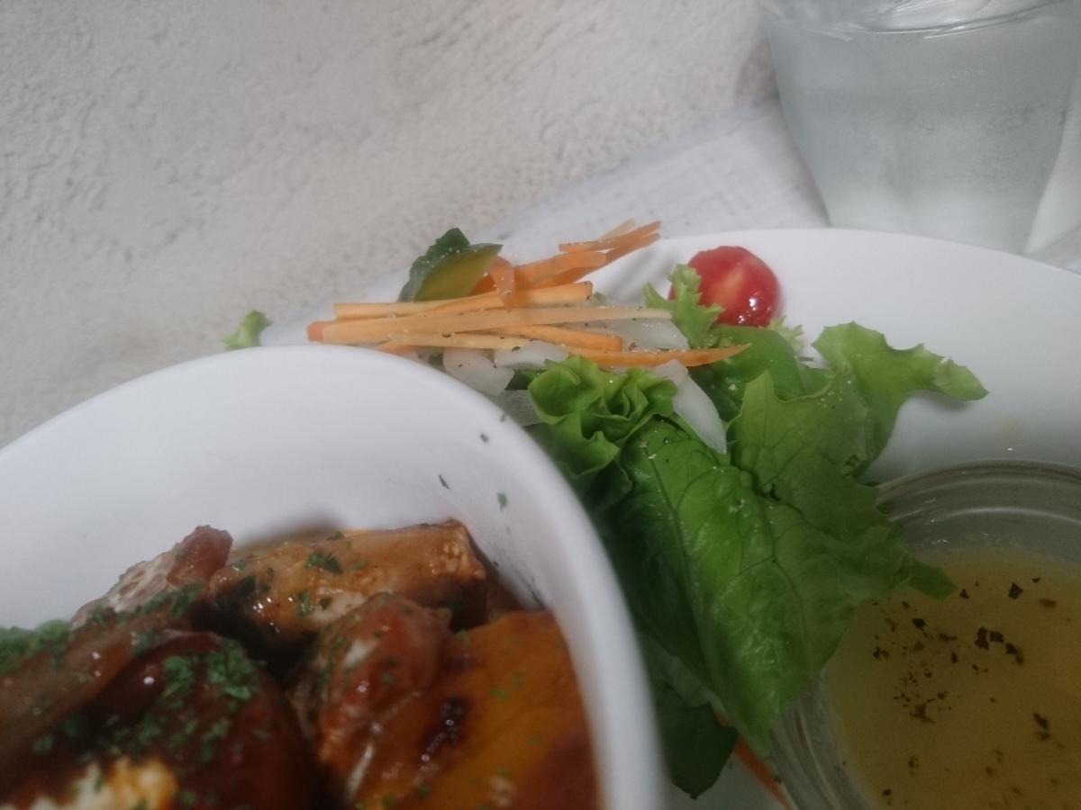 豚バラと野菜のデミグラスソース煮込みのプレート 47 -3