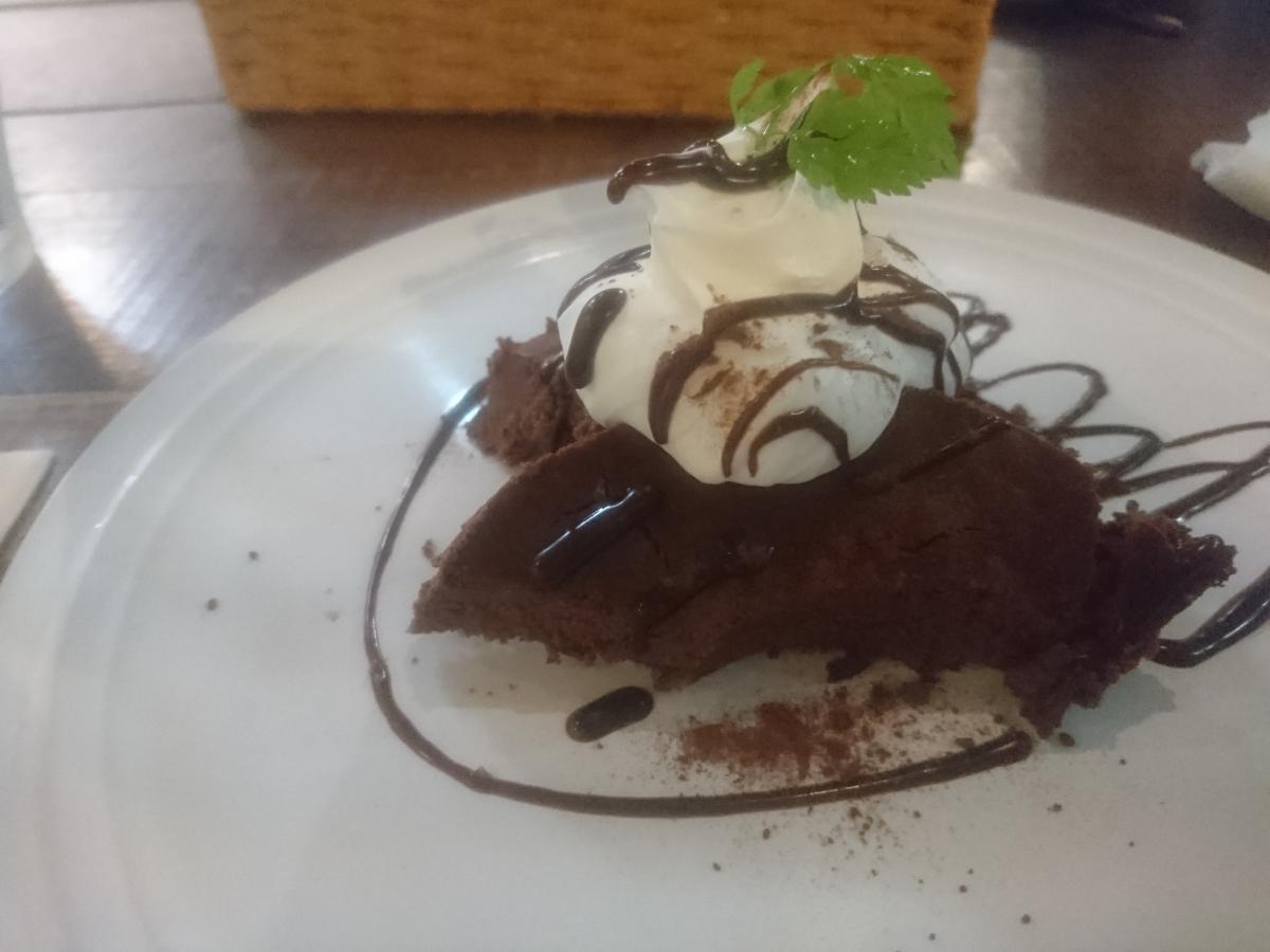 チョコレートのチーズケーキ 53 -3