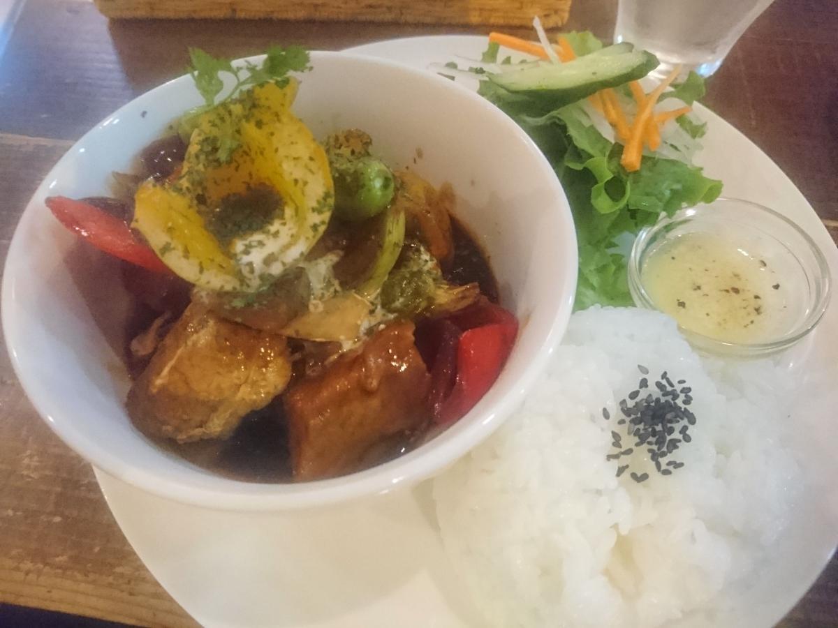 豚バラと野菜のデミグラスソース煮のプレート 54 -2