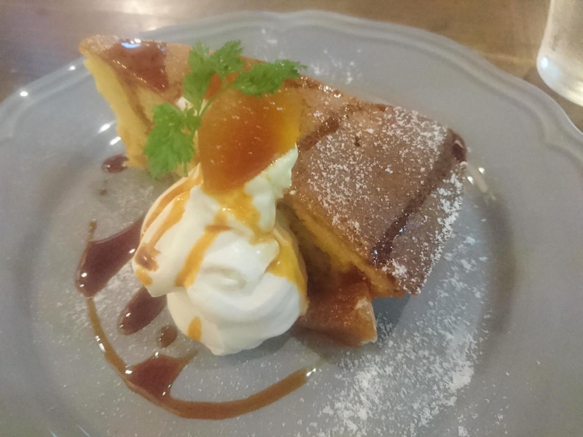 カラメルとりんごのケーキ 55 -2