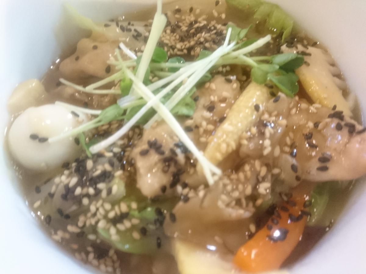たっぷり野菜のあんかけ中華丼 56 -1