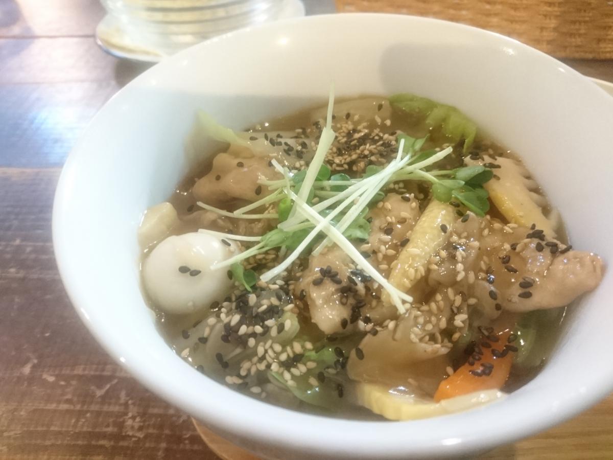 たっぷり野菜のあんかけ中華丼 56 -3