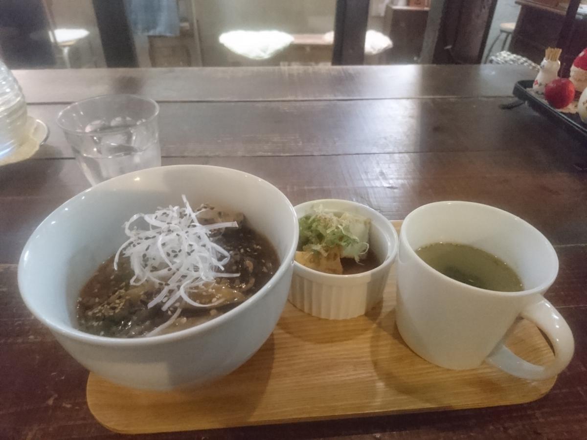 ナスと野菜のマーボー丼 57 -3