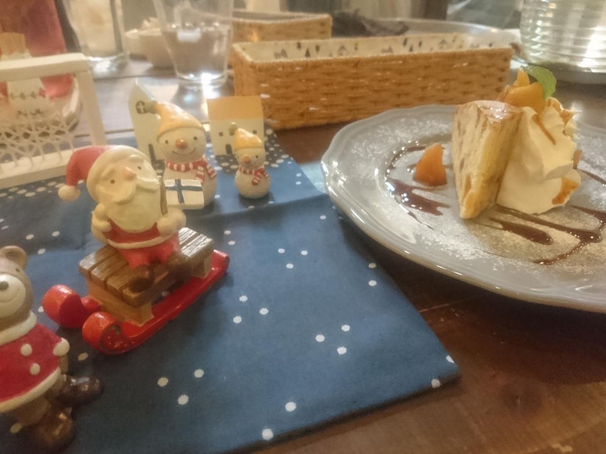 カラメルとりんごのケーキ 59 -1