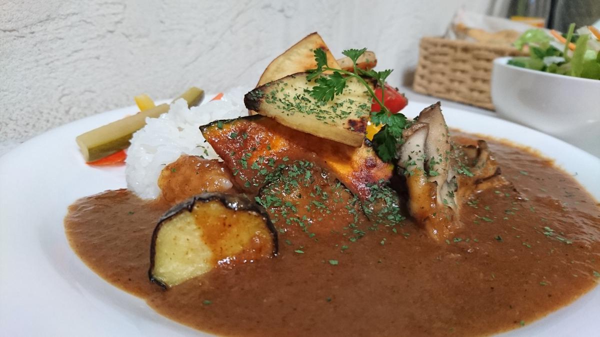 焼き野菜のベジタブルカレー 62 -2