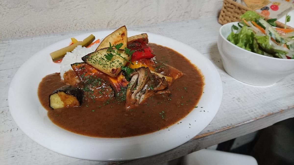 焼き野菜のベジタブルカレー 62 -3