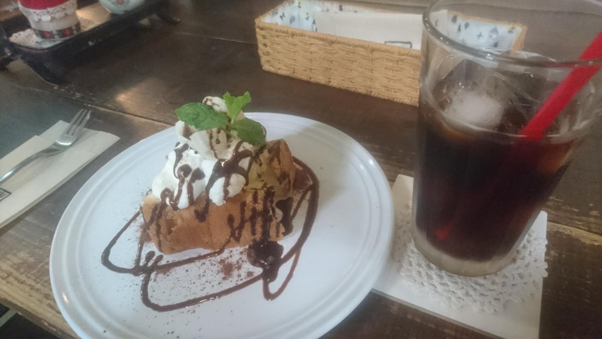 チョコとバナナのシフォンケーキ 7 -1
