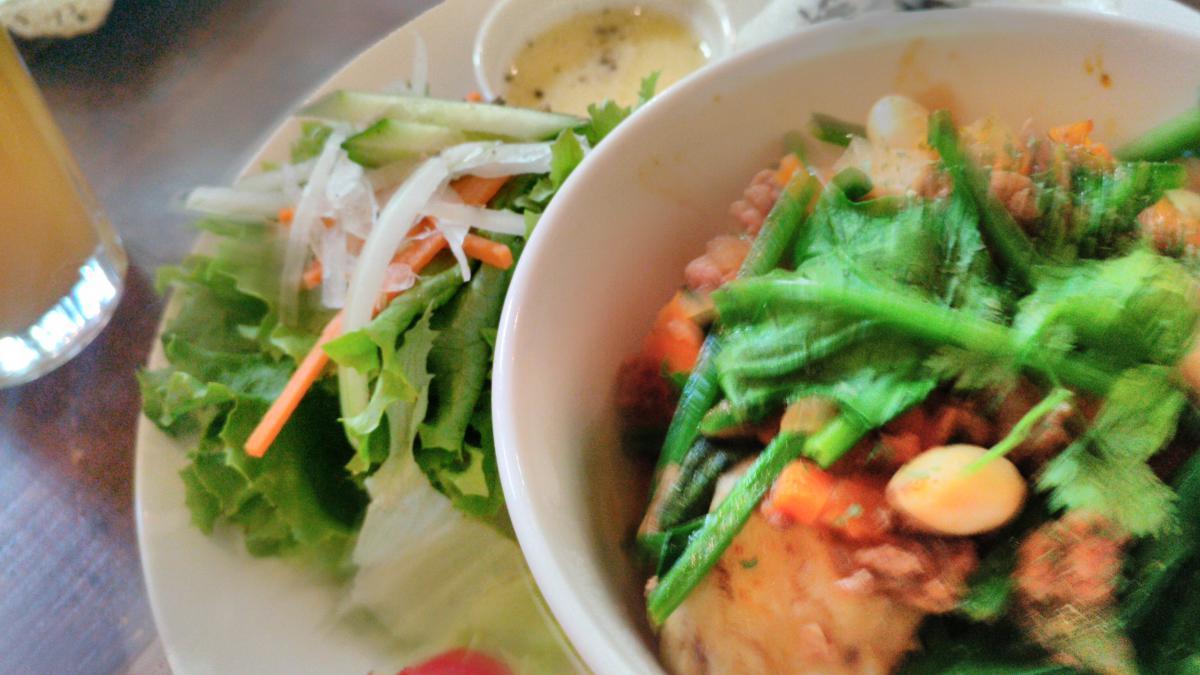 じゃがいもと野菜のミートソース煮のプレート 82 -1
